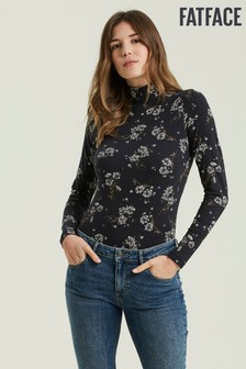 FatFace Selina Floating Floral Top