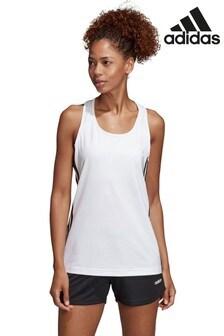 adidas D2M 3 Stripe Vest