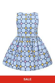 Simonetta Girls Multi Cotton Dress