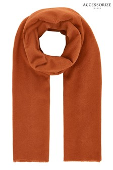 Accessorize Tan Wells Supersoft Scarf