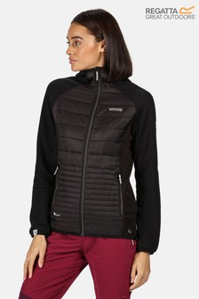 Regatta Black Womens Andreson V Hybrid Baffle Jacket