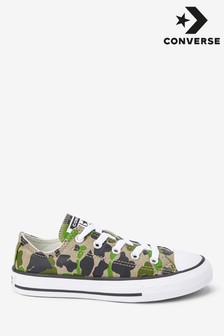 Converse Junior Camo Ox Trainers
