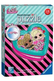 Ravensburger L.O.L Surprise! Heart Shaped 54pc 3D Jigsaw Puzzle