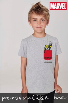 Personalised Disney™ Marvel® Pocket Superheroes T-Shirt