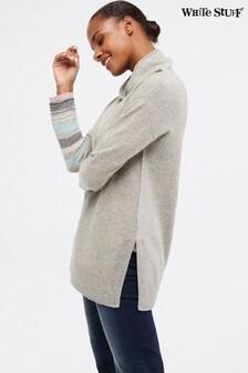 White Stuff Grey Cashmere Emery Jumper