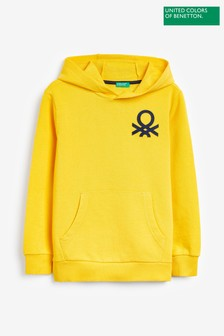 Benetton Yellow Hoody