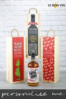 Personalised Rum Wooden Gift Box by Le Bon Vin