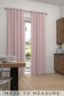 Cotton Pink Made To Measure Curtains