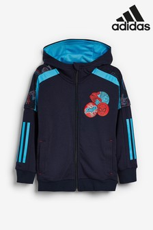 adidas Little Kids Spider-Man™ Zip Through Hoody