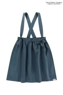 تنورة Bracer محززة زرقاء من Turtledove London