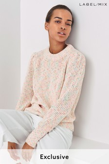 Mix/Laura Jackson Multicolour Yarn Jumper