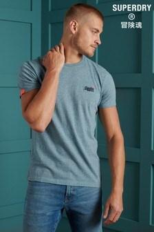 Superdry Orange Label Embroidered T-Shirt