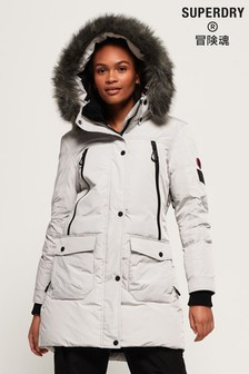 Superdry Antarctic Explorer Down Parka Jacket