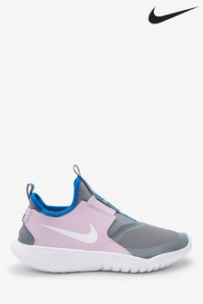 Nike Pink/Grey Flex Runner Trainers
