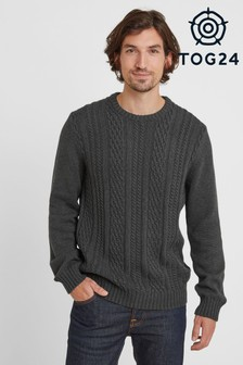 Tog 24 Aaron Mens Cable Knit Jumper