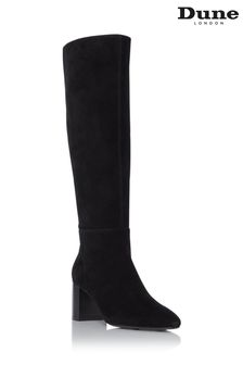 Dune London Santie Block Heel Knee High Boots