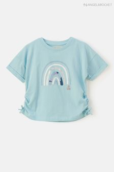 Angel & Rocket Rainbow Tie Side T-Shirt