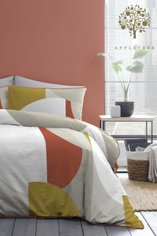 Appletree Style Finn Cotton Duvet Cover And Pillowcase Set