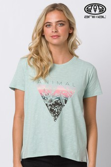 Animal Green Tracker Graphic T-Shirt