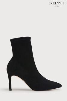 L.K.Bennett Allie Pointed Stretch Suede Boots