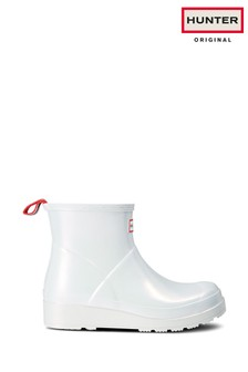 Hunter Silver Nebula Original Play Short Wellies