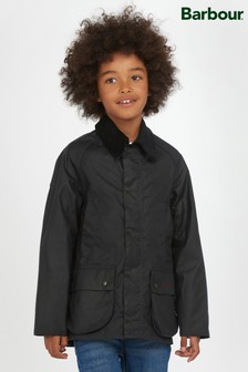 Barbour® Boys Navy Bedale Wax Jacket