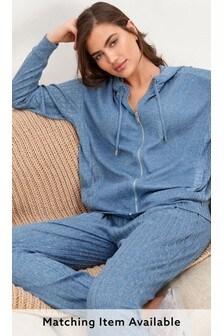 Soft Knitted Rib Hoodie
