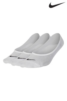 Nike Ladies White Footsies Three Pack