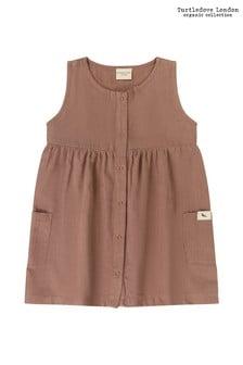 Turtledove London Brown Cord Dress