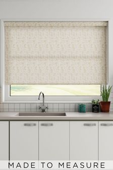 Wisley Vanilla Cream Made To Measure Roller Blind
