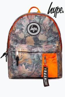 Hype. Orange Forest Backpack