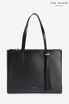 Ted Baker Black Narissa Large Tassel Tote Bag
