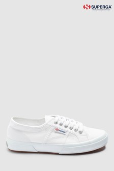 Superga® White Canvas Cotu