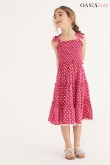 Oasis Ruffle Tiered Dress