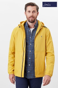 Joules Yellow Arlow Lightweight Waterproof Jacket