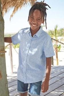 Linen Mix Shirt (3-16yrs)