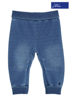 Joules Blue Hugo Jersey Denim Trousers