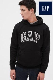 Gap Black Logo Hoody