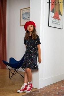Sonia Rykiel Black Heart Multicoloured Dress