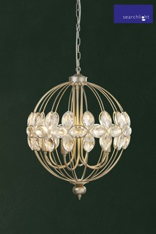 Sphere 6 Light Pendant by Searchlight