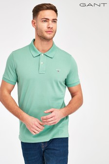 GANT Plain Pique Poloshirt