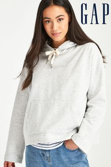 Gap Grey Embossed Hoody