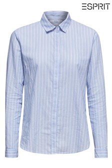 Esprit Blue Striped Cotton Shirt