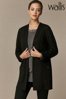 Wallis Petite Black Morgan Jacket