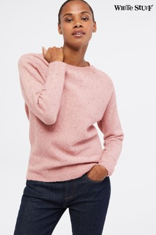 White Stuff Pink Karina Jumper
