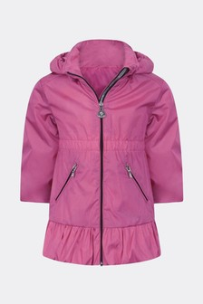 Baby Girls Fuchsia Geranium Jacket