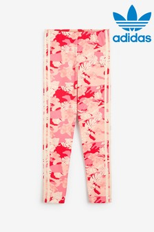 adidas Originals Pink Camo Print Leggings