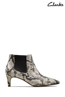 Clarks Grey Laina Boots