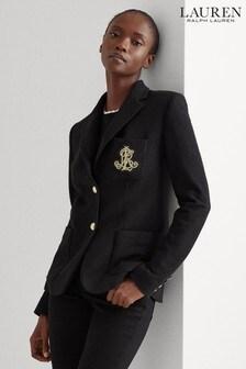 Lauren Ralph Lauren® Pique Anfisa Crest Blazer