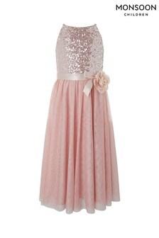 Monsoon Children Pink Truth Maxi Dress